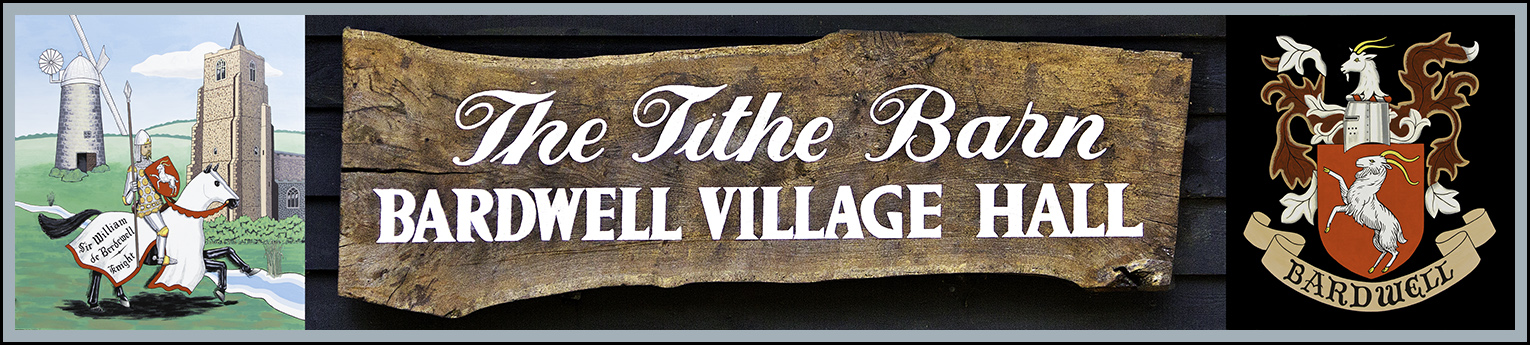 Tithe Barn, Village Hall, Bardwell